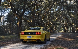 HD Road Test Review - 2015 Ford Mustang EcoBoost in Triple Yellow with Performance Pack 232