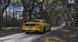 HD Road Test Review - 2015 Ford Mustang EcoBoost in Triple Yellow with Performance Pack 233