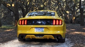 HD Road Test Review - 2015 Ford Mustang EcoBoost in Triple Yellow with Performance Pack 234