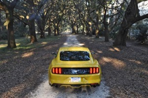 HD Road Test Review - 2015 Ford Mustang EcoBoost in Triple Yellow with Performance Pack 236