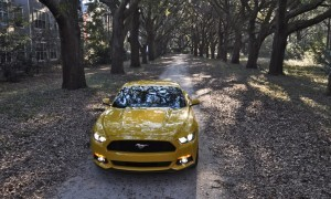 HD Road Test Review - 2015 Ford Mustang EcoBoost in Triple Yellow with Performance Pack 239