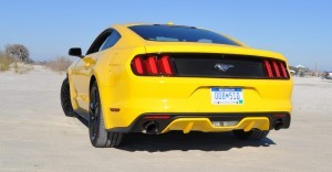 HD Road Test Review - 2015 Ford Mustang EcoBoost in Triple Yellow with Performance Pack 35