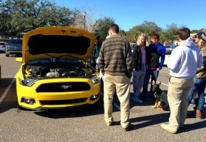 HD Road Test Review - 2015 Ford Mustang EcoBoost in Triple Yellow with Performance Pack 5