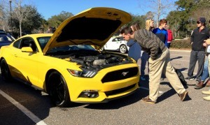 HD Road Test Review - 2015 Ford Mustang EcoBoost in Triple Yellow with Performance Pack 6