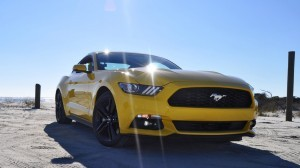 HD Road Test Review - 2015 Ford Mustang EcoBoost in Triple Yellow with Performance Pack 65