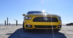 HD Road Test Review - 2015 Ford Mustang EcoBoost in Triple Yellow with Performance Pack 67