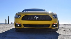 HD Road Test Review - 2015 Ford Mustang EcoBoost in Triple Yellow with Performance Pack 68