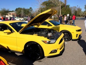 HD Road Test Review - 2015 Ford Mustang EcoBoost in Triple Yellow with Performance Pack 7