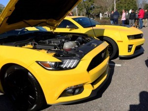HD Road Test Review - 2015 Ford Mustang EcoBoost in Triple Yellow with Performance Pack 8