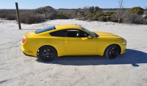 HD Road Test Review - 2015 Ford Mustang EcoBoost in Triple Yellow with Performance Pack 86