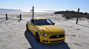 HD Road Test Review - 2015 Ford Mustang EcoBoost in Triple Yellow with Performance Pack 92