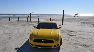 HD Road Test Review - 2015 Ford Mustang EcoBoost in Triple Yellow with Performance Pack 95