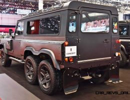 2015 KAHN 6×6 Huntsman Headed For Production With Available Ballistic Armor and Three V8 Options