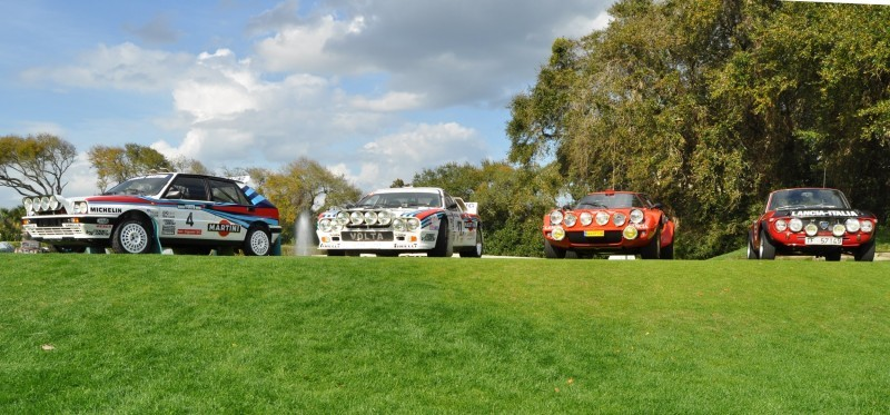 LANCIA Rally Reunion - Stratos, Integrale, Fulvia and 037 Together for Amelia 2015 10