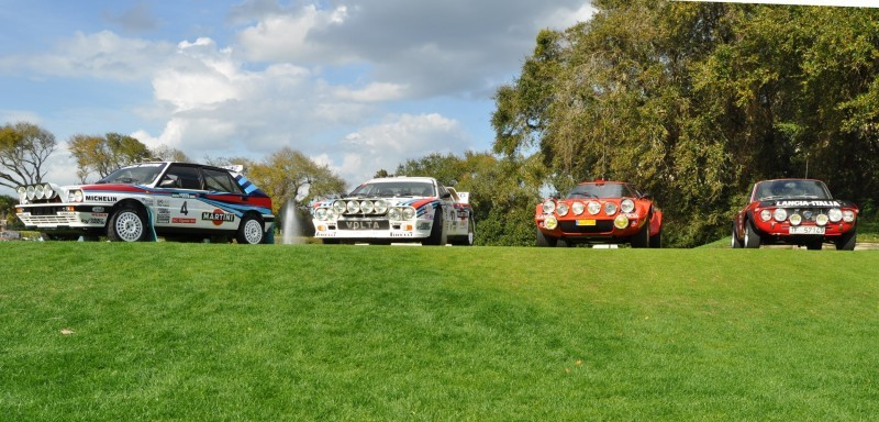 LANCIA Rally Reunion - Stratos, Integrale, Fulvia and 037 Together for Amelia 2015 11