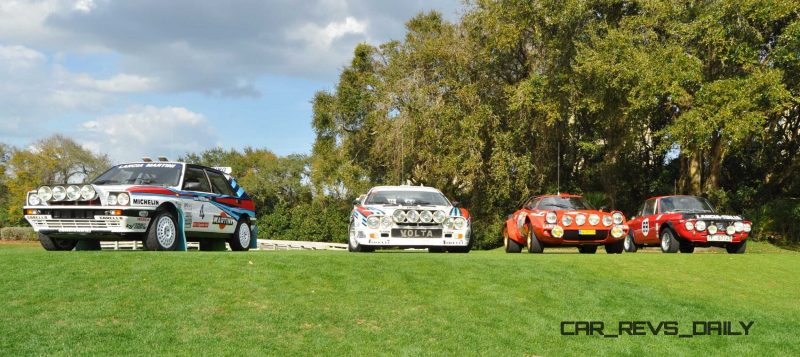 LANCIA Rally Reunion - Stratos, Integrale, Fulvia and 037 Together for Amelia 2015 12