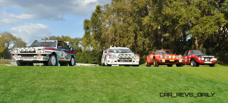 LANCIA Rally Reunion - Stratos, Integrale, Fulvia and 037 Together for Amelia 2015 14