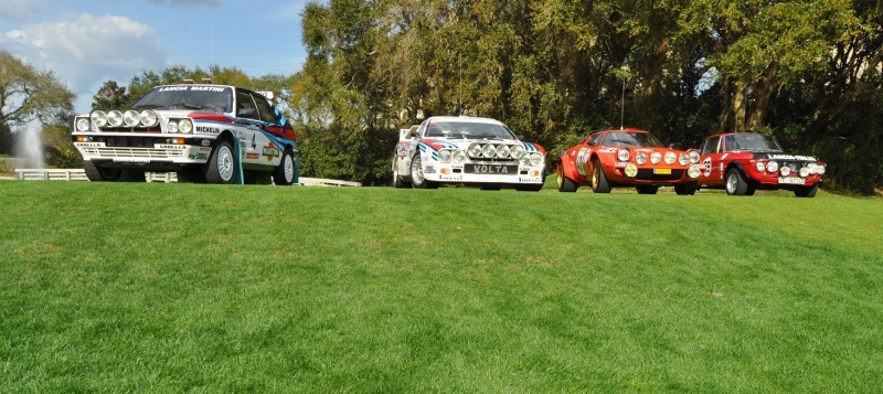 LANCIA Rally Reunion - Stratos, Integrale, Fulvia and 037 Together for Amelia 2015 15