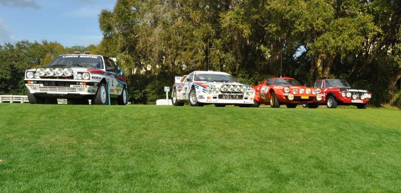LANCIA Rally Reunion - Stratos, Integrale, Fulvia and 037 Together for Amelia 2015 17