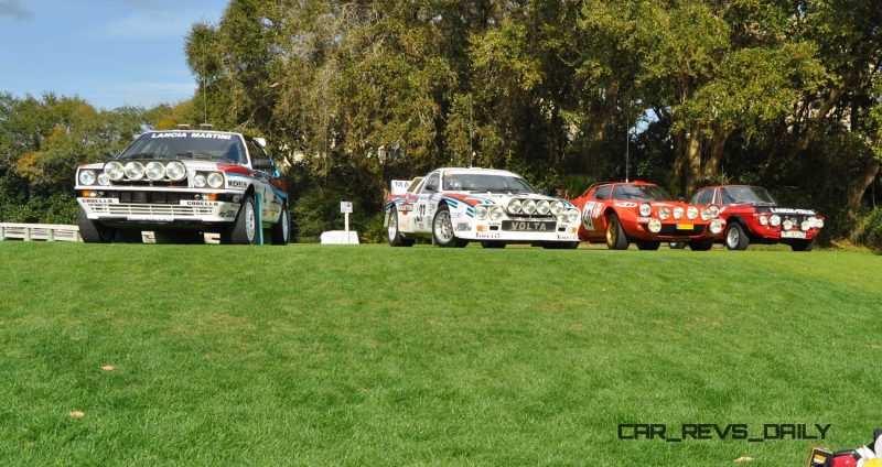 LANCIA Rally Reunion - Stratos, Integrale, Fulvia and 037 Together for Amelia 2015 18