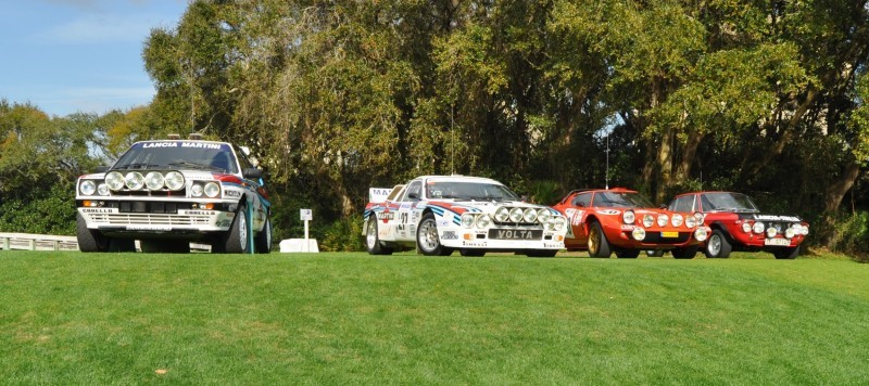LANCIA Rally Reunion - Stratos, Integrale, Fulvia and 037 Together for Amelia 2015 19