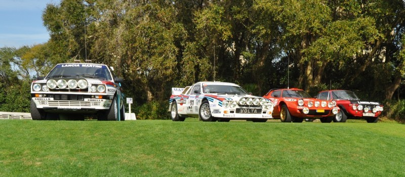 LANCIA Rally Reunion - Stratos, Integrale, Fulvia and 037 Together for Amelia 2015 20