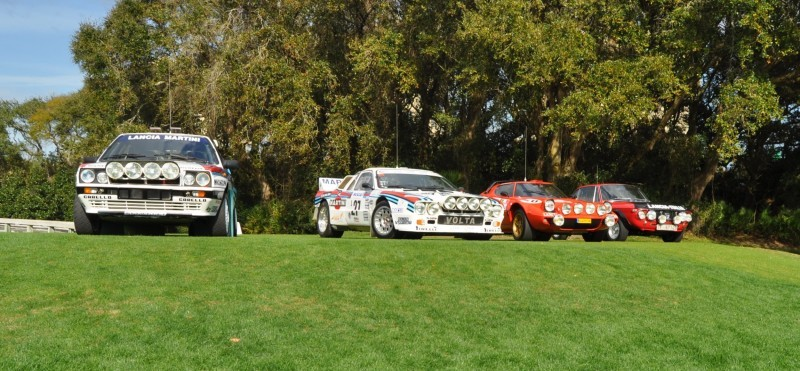 LANCIA Rally Reunion - Stratos, Integrale, Fulvia and 037 Together for Amelia 2015 21