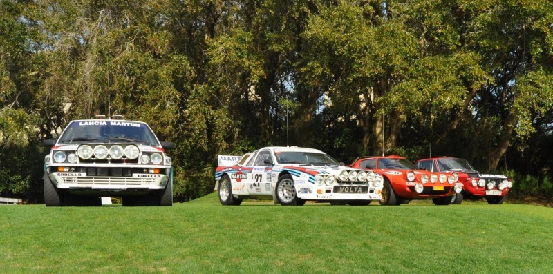 LANCIA Rally Reunion - Stratos, Integrale, Fulvia and 037 Together for Amelia 2015 23