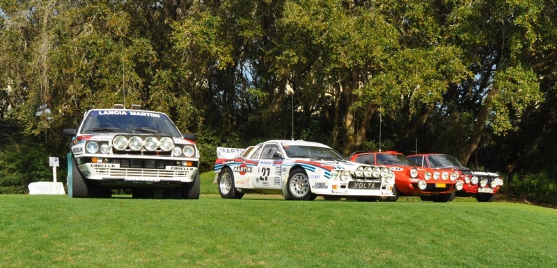 LANCIA Rally Reunion - Stratos, Integrale, Fulvia and 037 Together for Amelia 2015 25