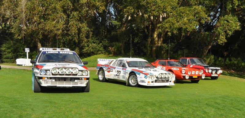 LANCIA Rally Reunion - Stratos, Integrale, Fulvia and 037 Together for Amelia 2015 26