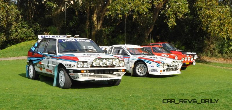 LANCIA Rally Reunion - Stratos, Integrale, Fulvia and 037 Together for Amelia 2015 29