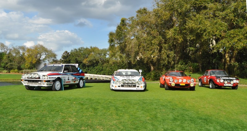 LANCIA Rally Reunion - Stratos, Integrale, Fulvia and 037 Together for Amelia 2015 3