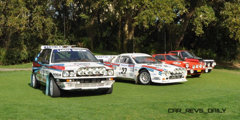 LANCIA Rally Reunion - Stratos, Integrale, Fulvia and 037 Together for Amelia 2015 30