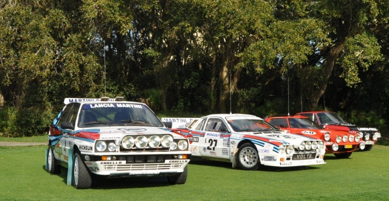 LANCIA Rally Reunion - Stratos, Integrale, Fulvia and 037 Together for Amelia 2015 31