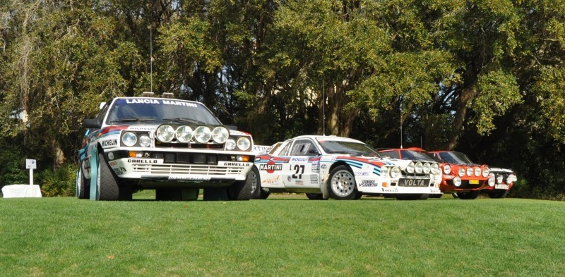 LANCIA Rally Reunion - Stratos, Integrale, Fulvia and 037 Together for Amelia 2015 32