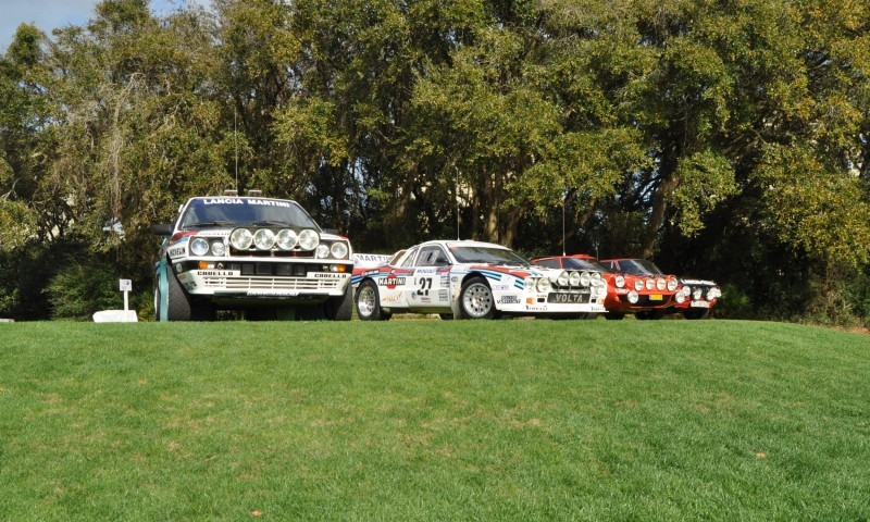 LANCIA Rally Reunion - Stratos, Integrale, Fulvia and 037 Together for Amelia 2015 33