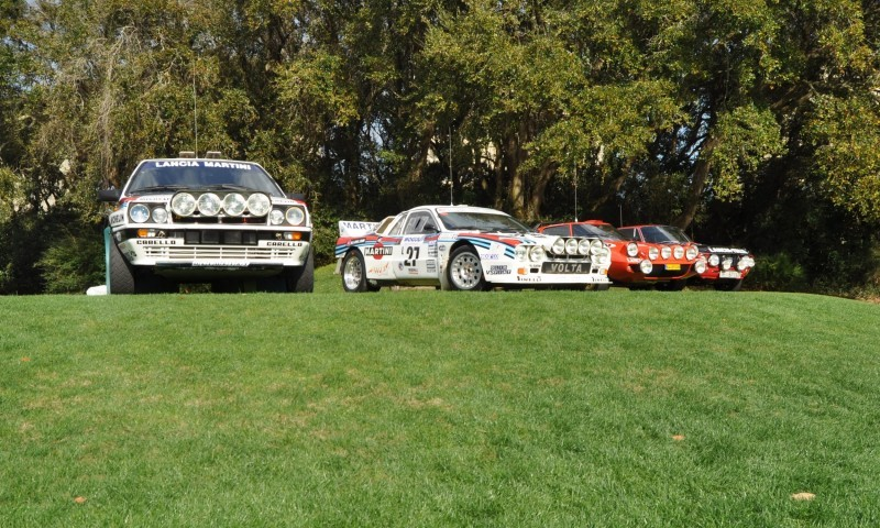 LANCIA Rally Reunion - Stratos, Integrale, Fulvia and 037 Together for Amelia 2015 34