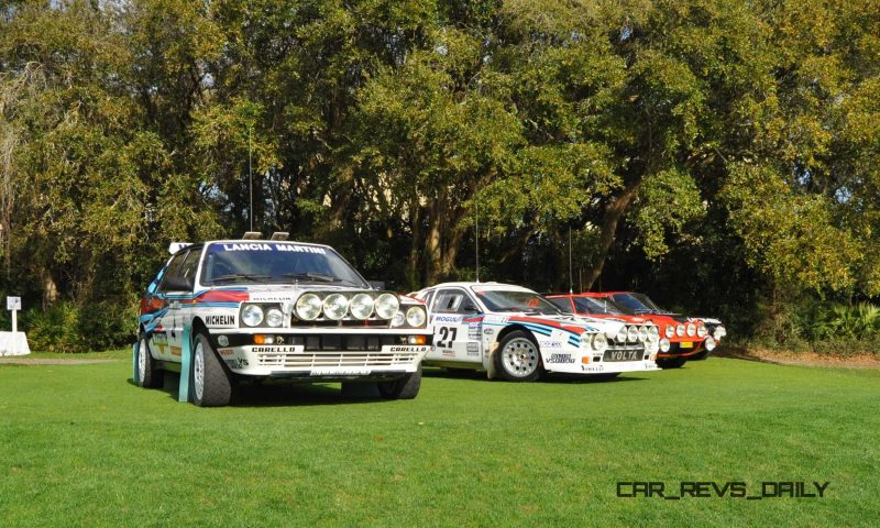 LANCIA Rally Reunion - Stratos, Integrale, Fulvia and 037 Together for Amelia 2015 35