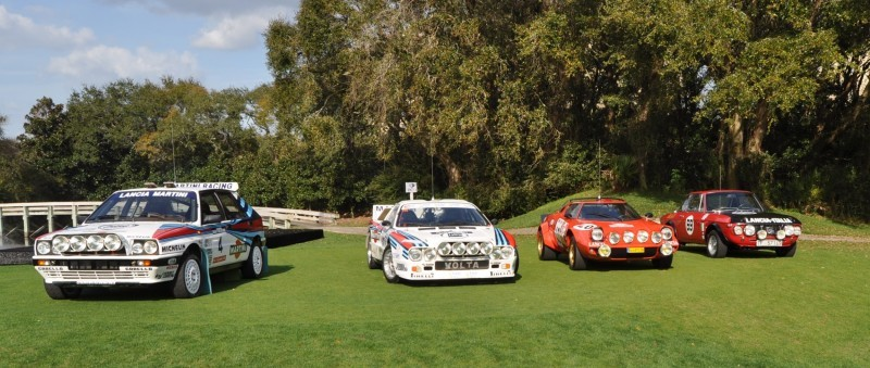 LANCIA Rally Reunion - Stratos, Integrale, Fulvia and 037 Together for Amelia 2015 36