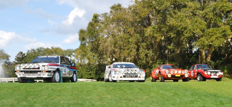 LANCIA Rally Reunion - Stratos, Integrale, Fulvia and 037 Together for Amelia 2015 37