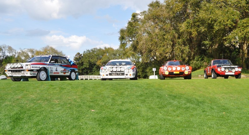 LANCIA Rally Reunion - Stratos, Integrale, Fulvia and 037 Together for Amelia 2015 38