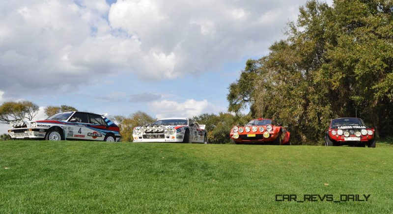 LANCIA Rally Reunion - Stratos, Integrale, Fulvia and 037 Together for Amelia 2015 39