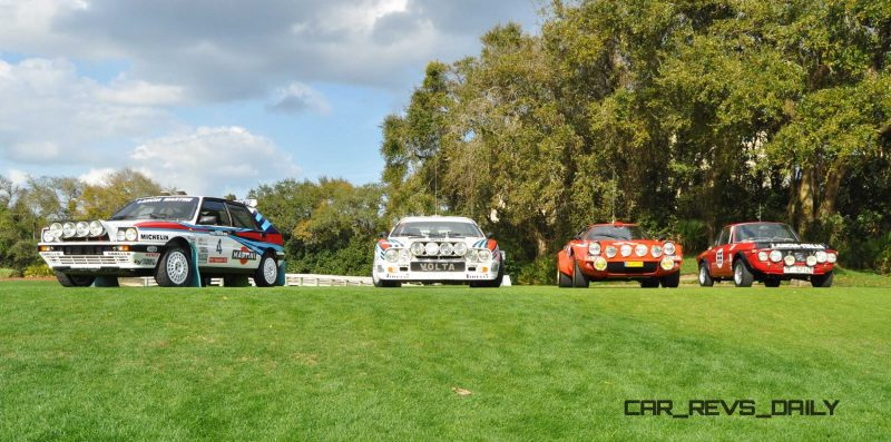 LANCIA Rally Reunion - Stratos, Integrale, Fulvia and 037 Together for Amelia 2015 4