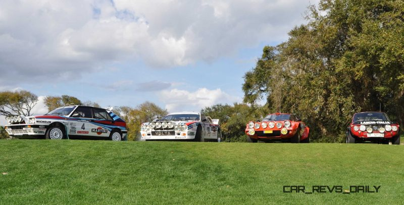 LANCIA Rally Reunion - Stratos, Integrale, Fulvia and 037 Together for Amelia 2015 40