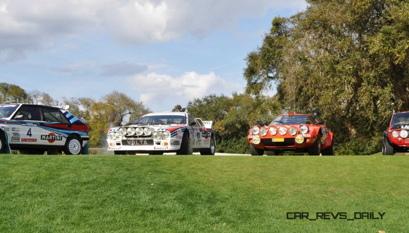 LANCIA Rally Reunion - Stratos, Integrale, Fulvia and 037 Together for Amelia 2015 41