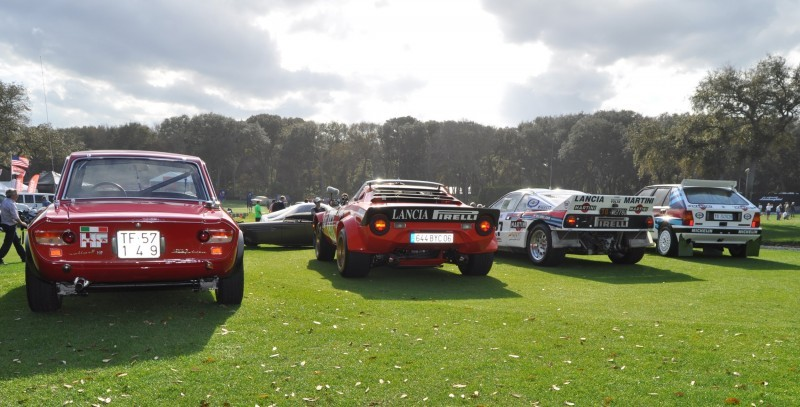 LANCIA Rally Reunion - Stratos, Integrale, Fulvia and 037 Together for Amelia 2015 44