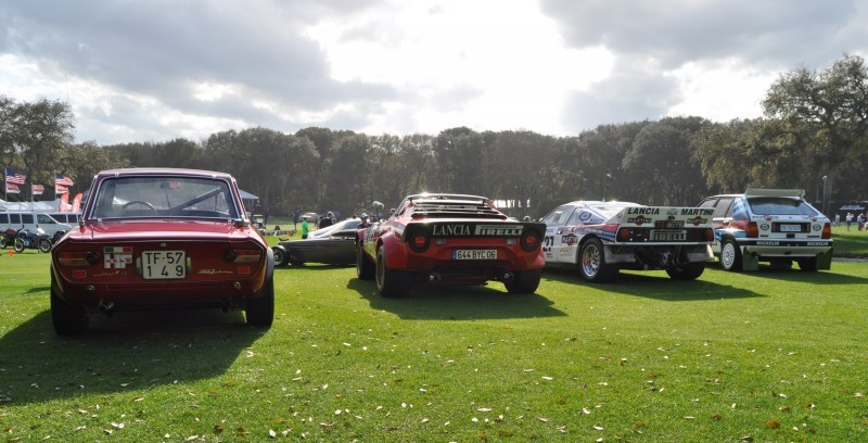 LANCIA Rally Reunion - Stratos, Integrale, Fulvia and 037 Together for Amelia 2015 45