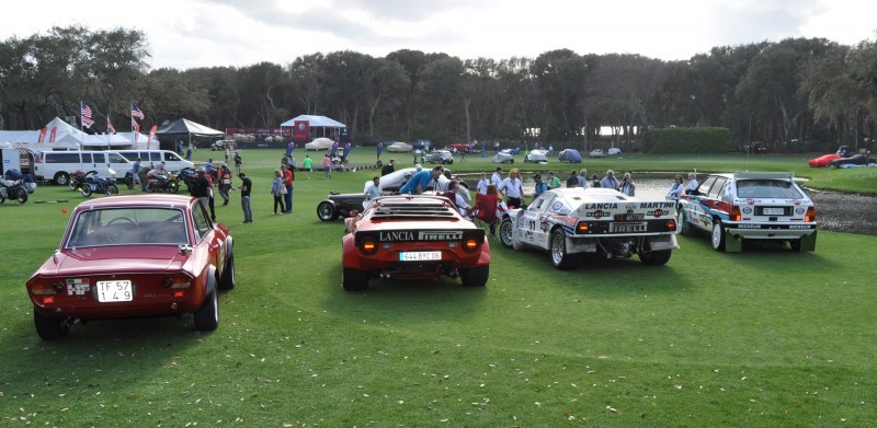LANCIA Rally Reunion - Stratos, Integrale, Fulvia and 037 Together for Amelia 2015 46