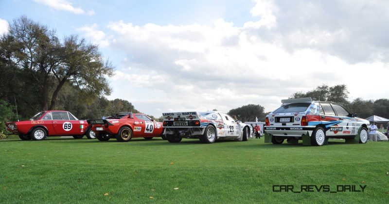 LANCIA Rally Reunion - Stratos, Integrale, Fulvia and 037 Together for Amelia 2015 47