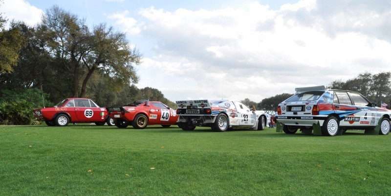 LANCIA Rally Reunion - Stratos, Integrale, Fulvia and 037 Together for Amelia 2015 48
